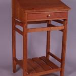 "Stand Up Desk: 2006 Cherry 44"" tall, 27"" wide, 22"" deep $1200"