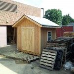 8×8 shed built by Ken's Residential Construction class at Boyertown Senior High 2013-14.
