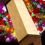 "Kaleidoscope: 2007 Curly Maple, Mahogany, Glass, Plastic Thingys 10 1/2"" long, 3 1/4"" dia. $225"
