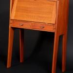 Fall Front Desk 2015, Red Oak 31 wide x 40 tall x 17 deep, $1600.