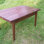 Expanding Dining Table 2016 Walnut Closed