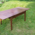 Expanding Dining Table 2016 Walnut Open